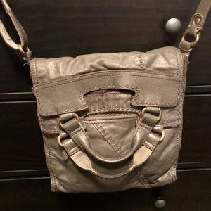LUCKY Brand Abbey Road Leather Cross Body Bag